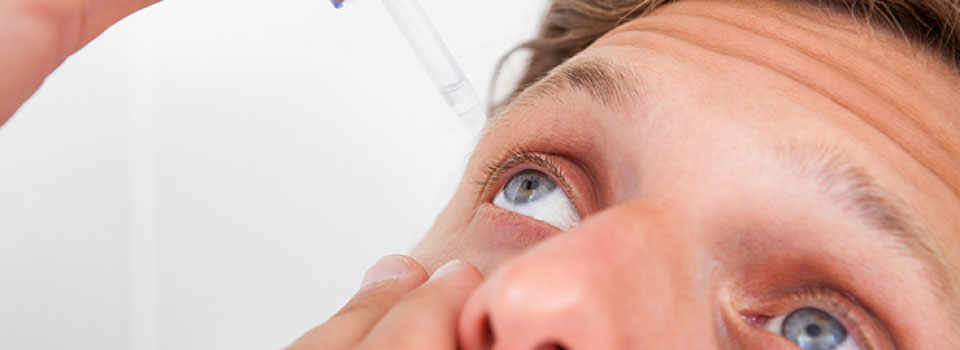 Dry Eyes at Suter Brook Optometry Clinic